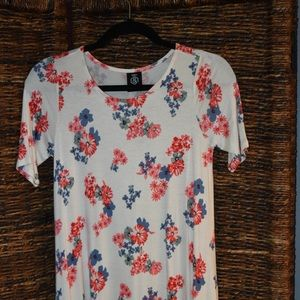 Navy Flower Swing tunic
